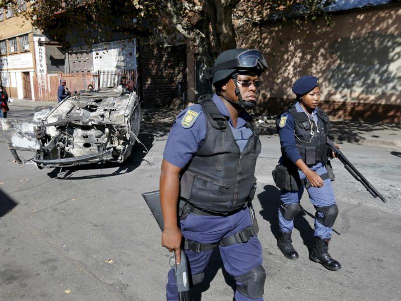 Polícia - Joanesburgo [Reuters]