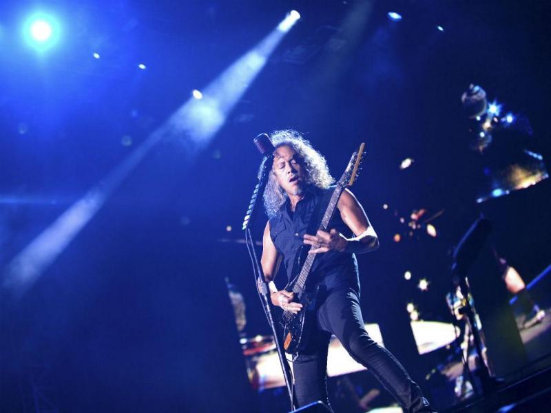 Kirt Hammett, guitarrista dos Metallica (REUTERS)