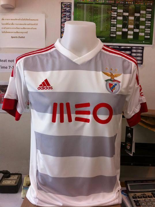 A camisola alternativa do Benfica 2015 16 vai ter listas horizontais ... 377efc8cc4be1