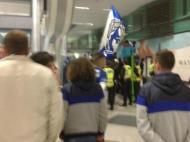 Aeroporto chegada FC Porto