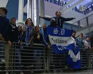 FC Porto apoiado pelos adeptos no regresso a casa