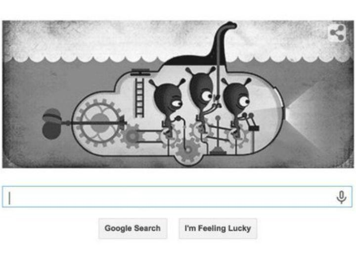 Doodle do Google retrata Monstro do Lago Ness