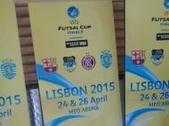 Meo Arena: visita ao palco da «final four» da UEFA Futsal Cup