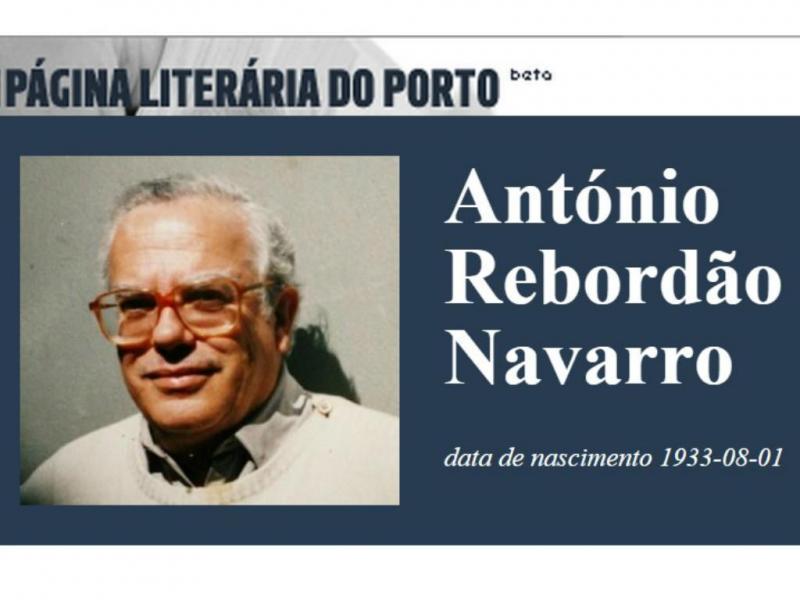 António Rebordão Navarro [Página Literária do Porto]