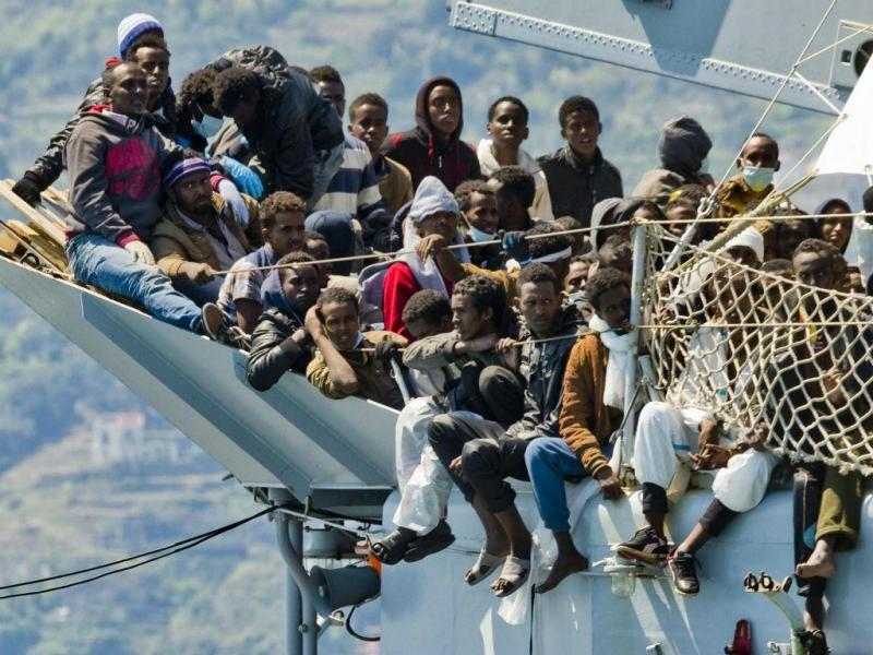 Migrantes em Itália (Lusa)