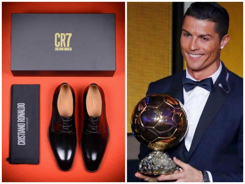 804c895a0d cristiano ronaldo lança coleção de sapatos de luxo | tvi24