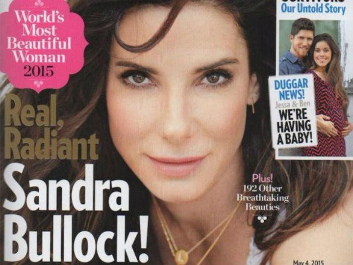 Sandra Bullock eleita a mais bela de 2015 (Twitter)