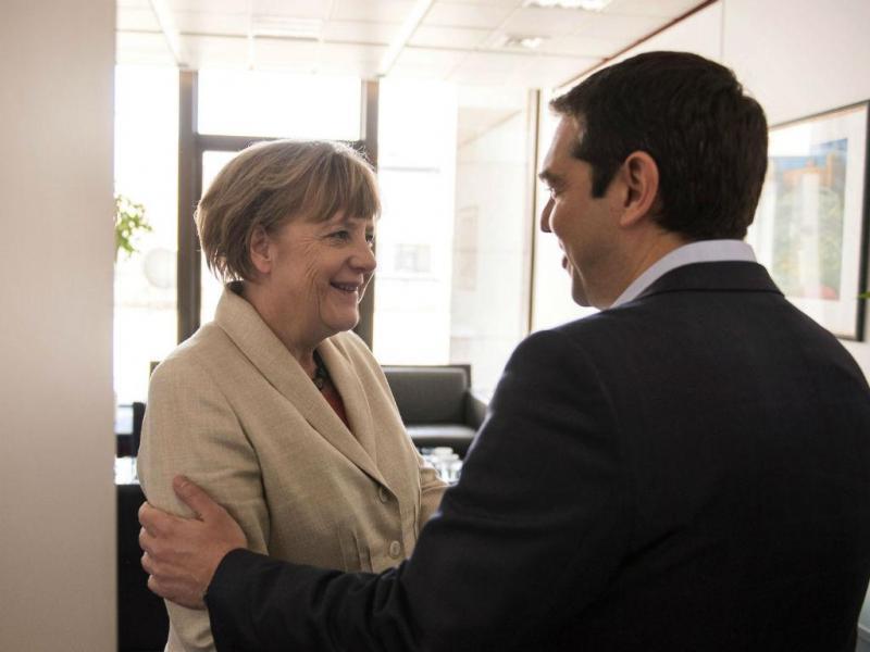 Angela Merkel e Alexis Tsipras [Lusa]