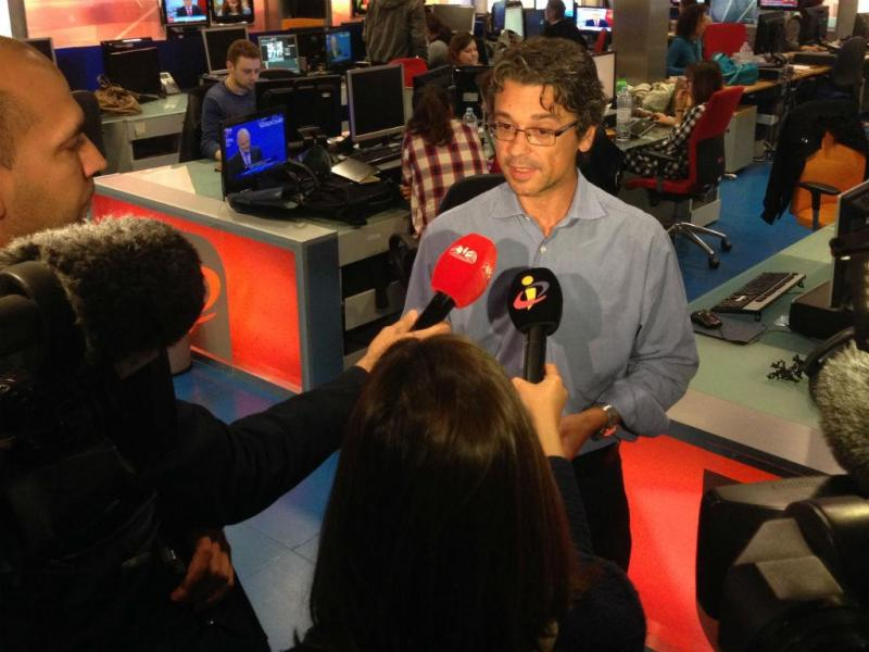 Sérgio Figueiredo, diretor de Informação da TVI e TVI24