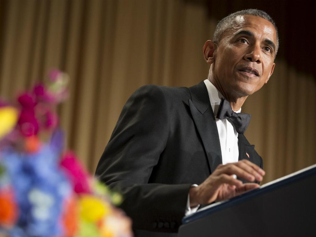 Jantar de Correspondentes da Casa Branca [Reuters]
