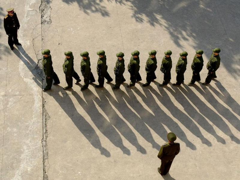 Exército chinês (REUTERS)