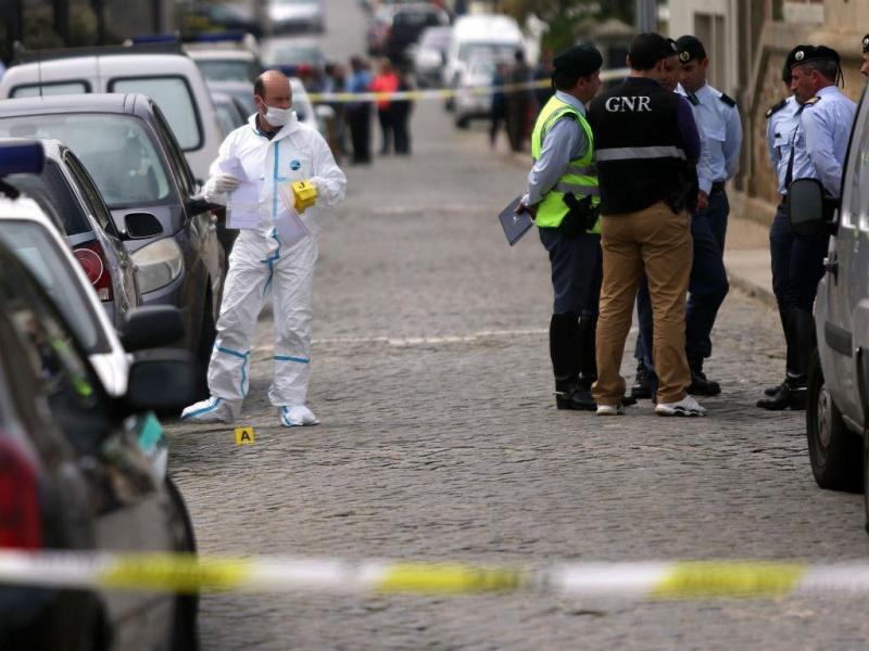 Família morta a tiro na Póvoa de Varzim (Lusa/Estela Silva)