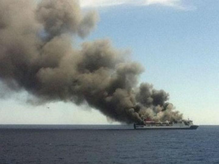 Ferry evacuado (Foto: DR)