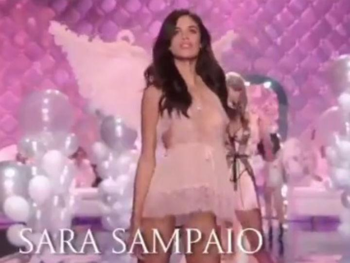 Sara Sampaio (Foto: Twitter VS)