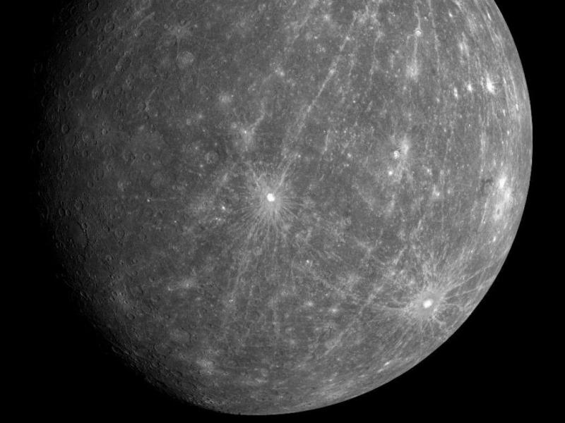 Planeta Mercúrio [Foto: NASA]
