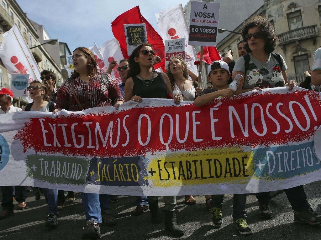1º de Maio em Portugal (Lusa)