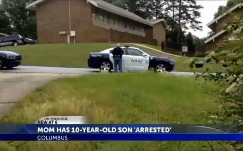 Mãe manda prender filho de dez anos