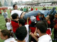 Futebol Benfica campeão nacional feminino