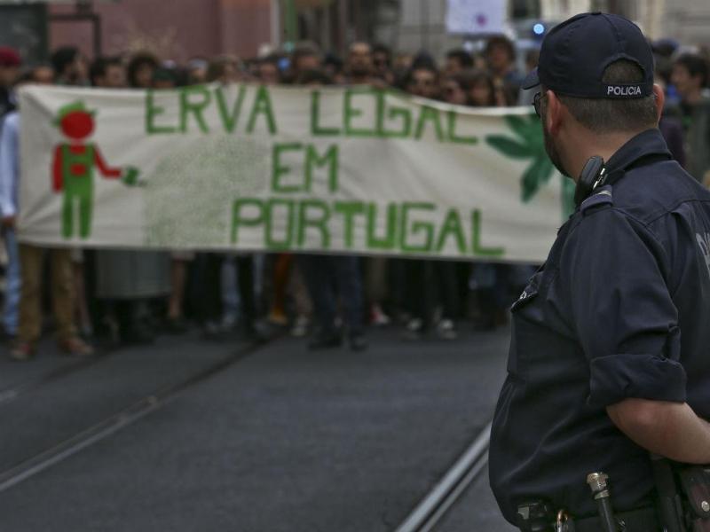 Marcha pela legalização da Marijuana em Lisboa [Lusa]