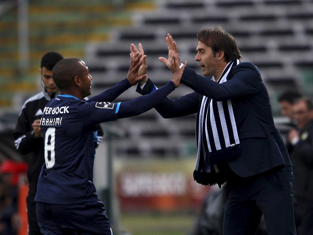 Vitória Setúbal-FC Porto (REUTERS/ Hugo Correia)