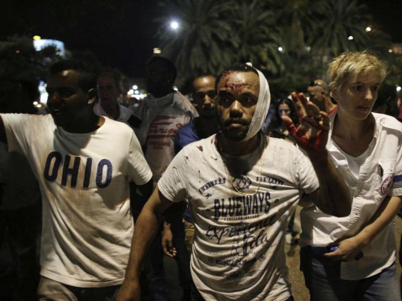 Israel: violência nas ruas faz 40 feridos (LUSA/EPA)