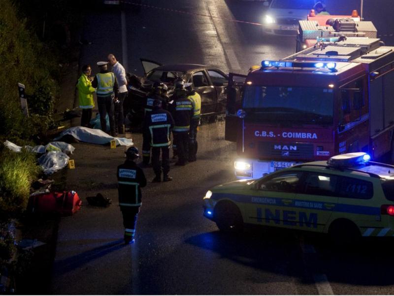 Acidente em Mortágua mata peregrinos [Lusa]