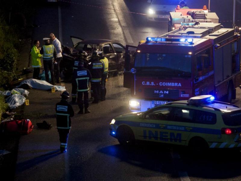 Jovem atropela mortalmente cinco peregrinos em Cernache, Coimbra