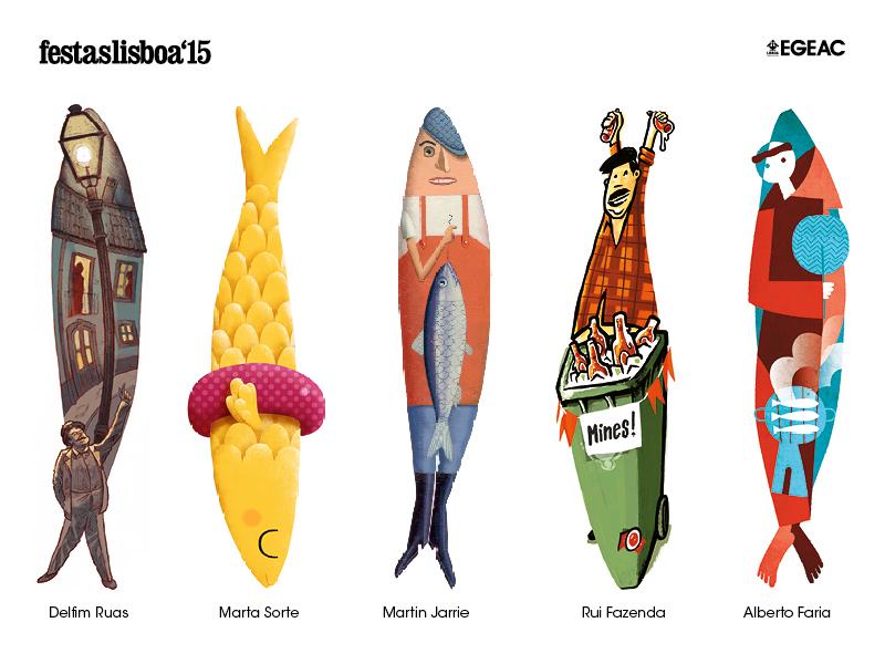 Festas de Lisboa'15 - as sardinhas vencedoras [EGEAC]