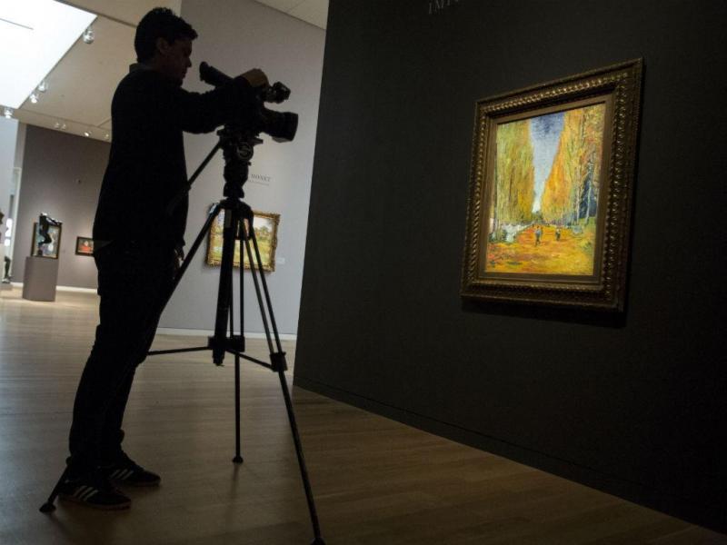 """Quadro """"L'Allée des Alyscamps"""", de Van Gogh [Reuters]"""