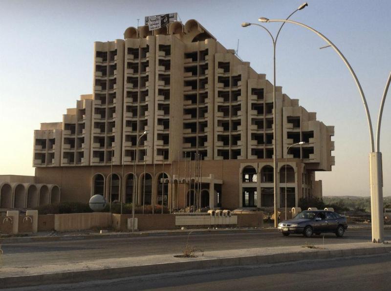 Nineveh International Hotel, em Mosul, no Iraque (Reuters)