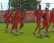 Salvio de volta no Benfica, Gaitán ainda não