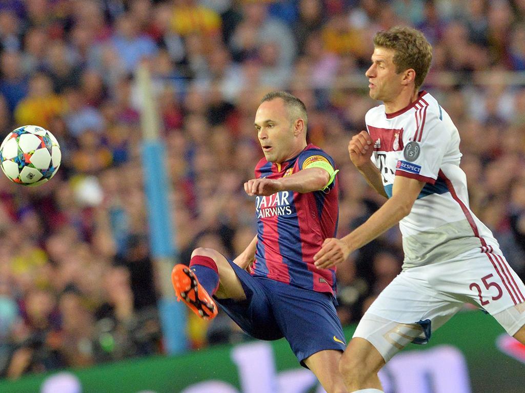 Barcelona-Bayern Munique (Lusa)