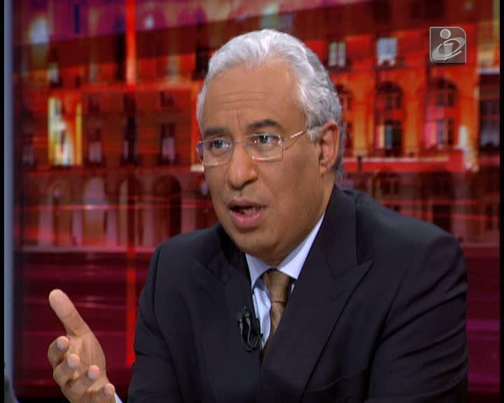 António Costa promete alterar escalões de IRS