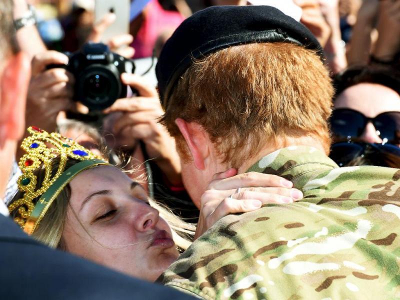 Australiana pede príncipe Harry em casamento (REUTERS)