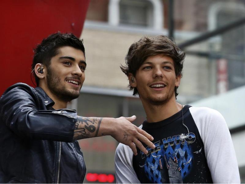 Zayn Malik e Louis Tomlinson [Reuters]