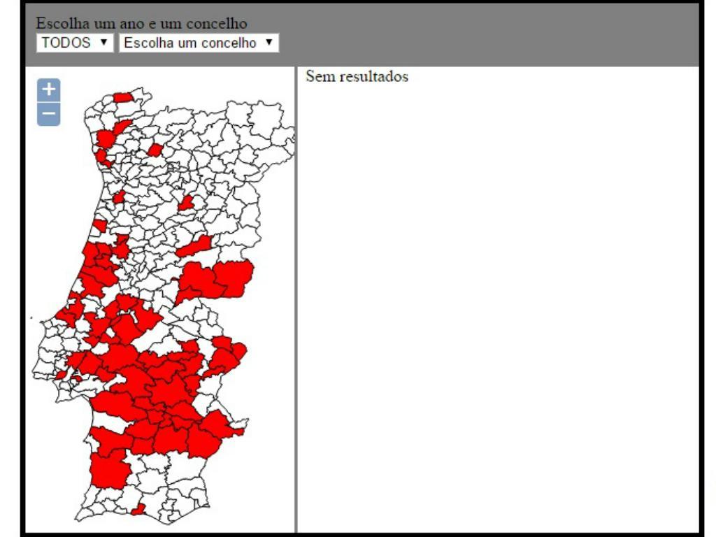 mapa de portugal 2014 Quer saber onde se cultiva milho transgénico em Portugal? | TVI24 mapa de portugal 2014