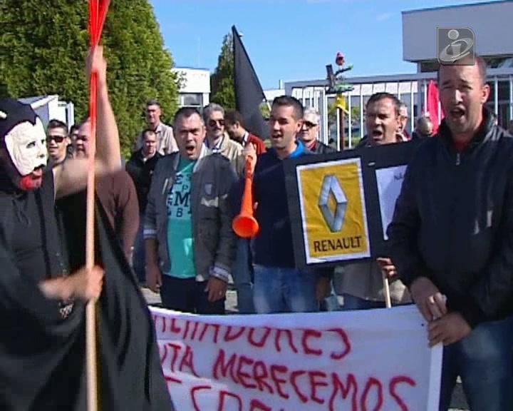 Trabalhadores da Renault CACIA cumprem 24 horas de greve