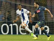 Liga Europa: Nápoles vs Dnipro (REUTERS)
