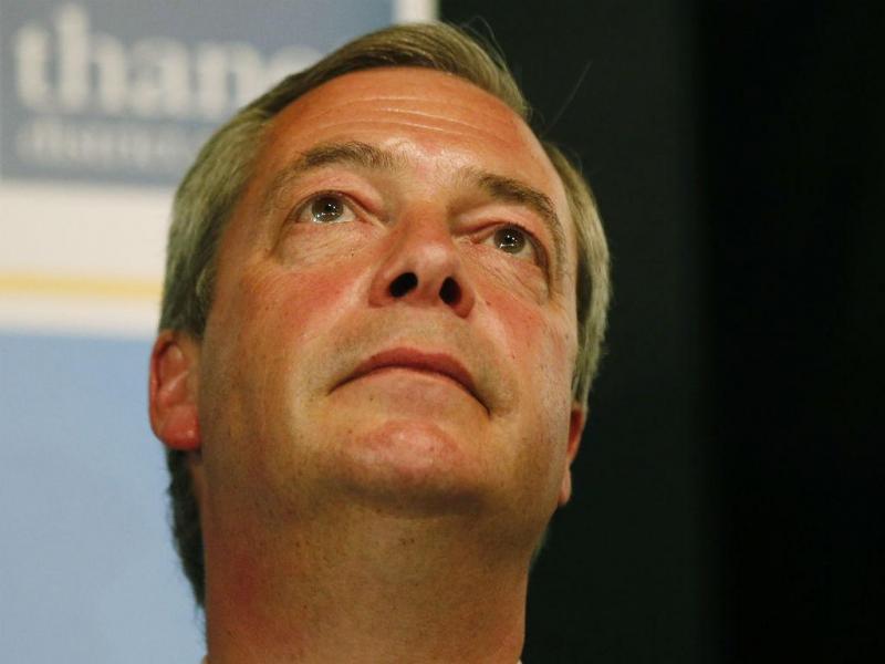 Nigel Farage, líder do UKIP, falha eleição (REUTERS)