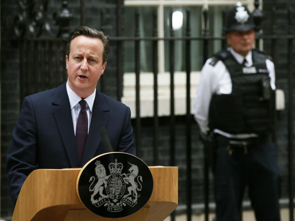 O discurso de David Cameron após a vitória dos Conservadores nas eleições do Reino Unido [Foto: Reuters]