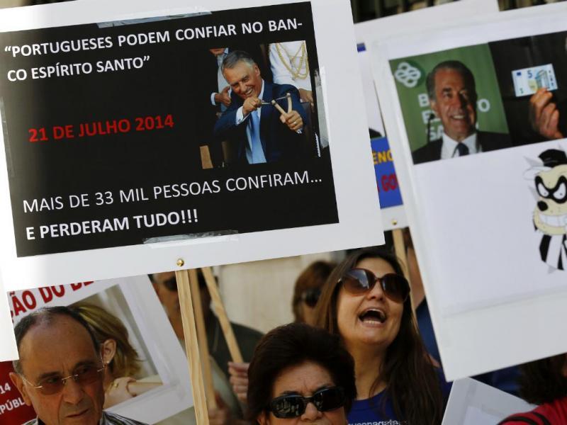 BES: Pequenos acionistas manifestam-se em Lisboa