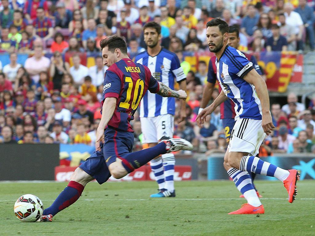 Barcelona-Real Sociedad (Lusa)