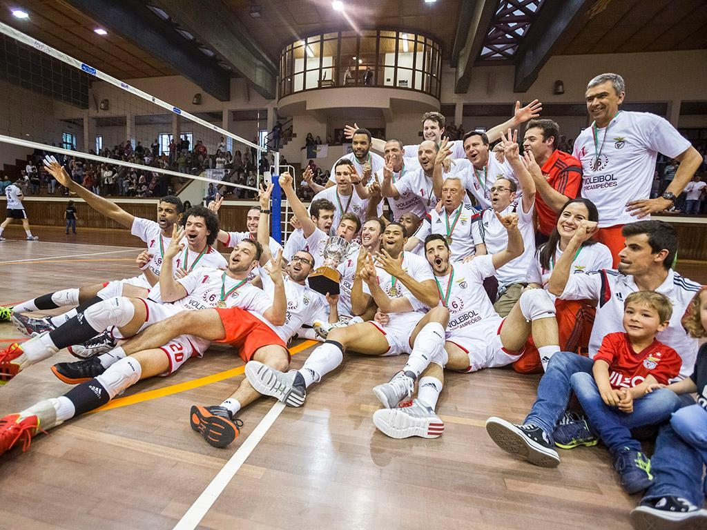 Benfica campeão nacional de voleibol (Lusa)