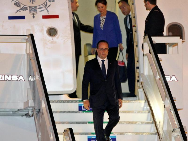 François Hollande visita Cuba (Foto: Lusa/EPA)