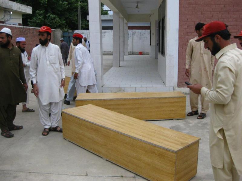 Bomba faz vários mortos no Paquistão (Foto: Hanifullah Khank/EPA)