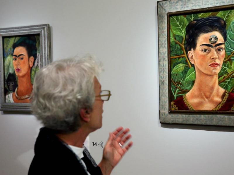 Originais da pintora Frida Kahlo (Reuters)