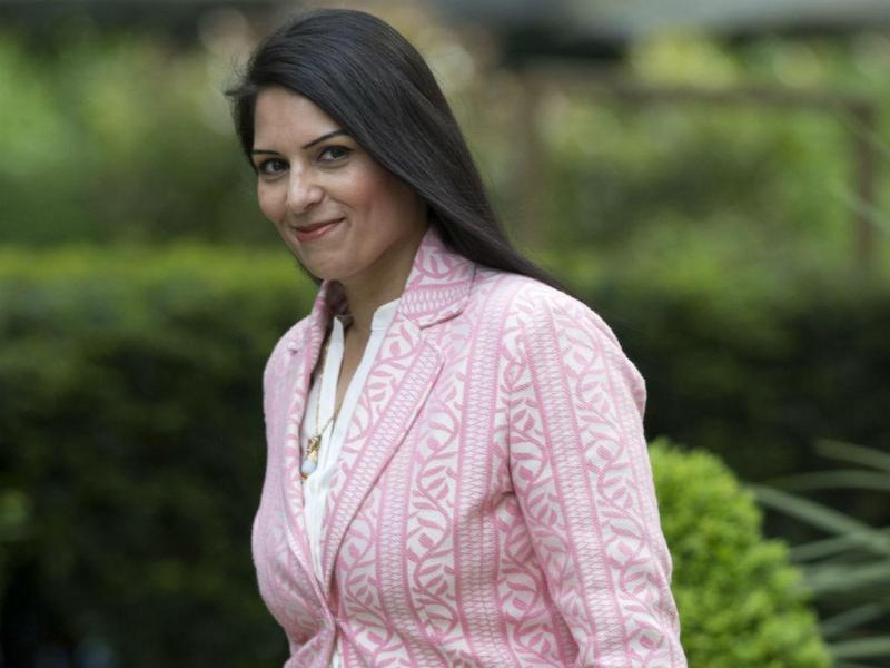 Priti Patel [Foto: EPA]