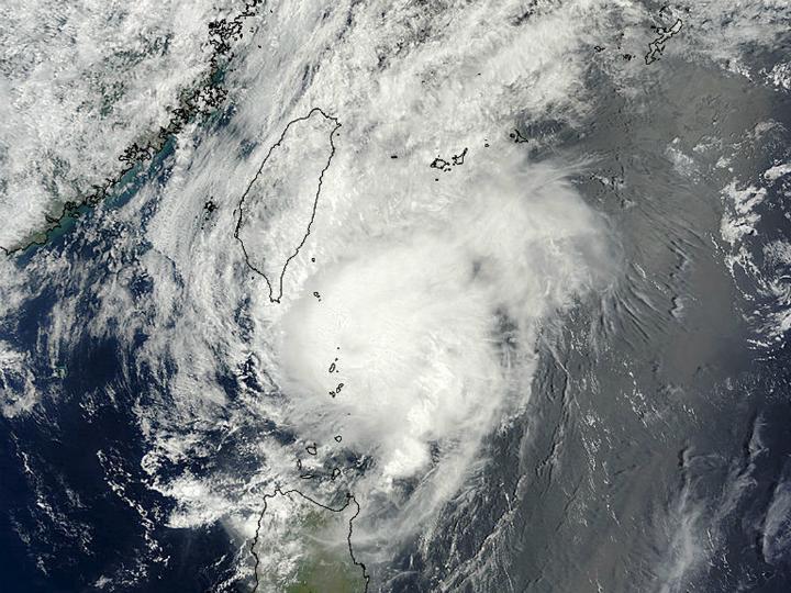 Tufão Noul atinge o Japão [Foto:Reuters]
