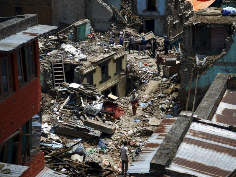 Novo sismo no Nepal [Foto: Reuters]
