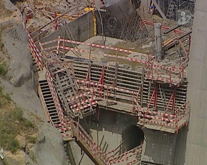 Barragem do Tua: operário morre em queda de 30 metros